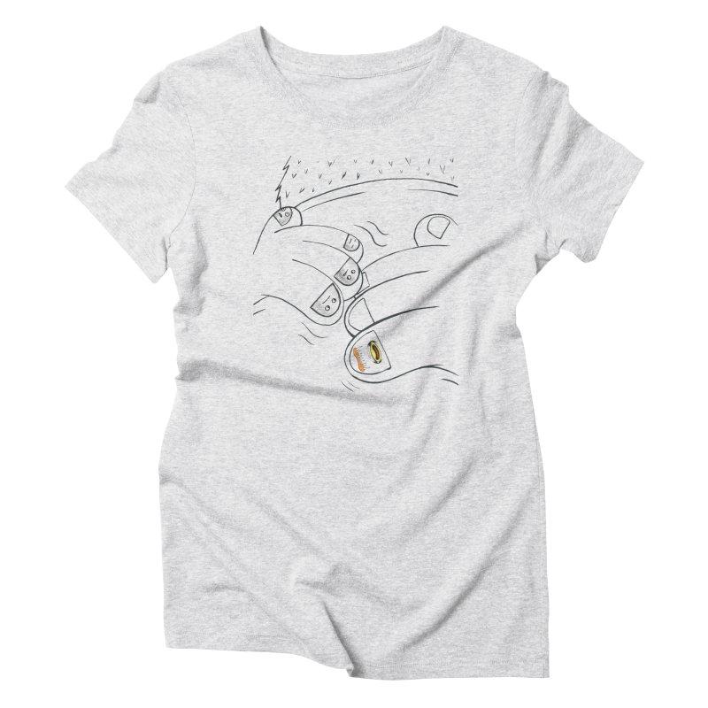 Embrace Your Weird Women's Triblend T-Shirt by Democratee