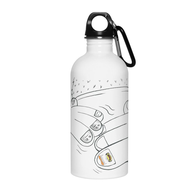 Embrace Your Weird Accessories Water Bottle by Democratee