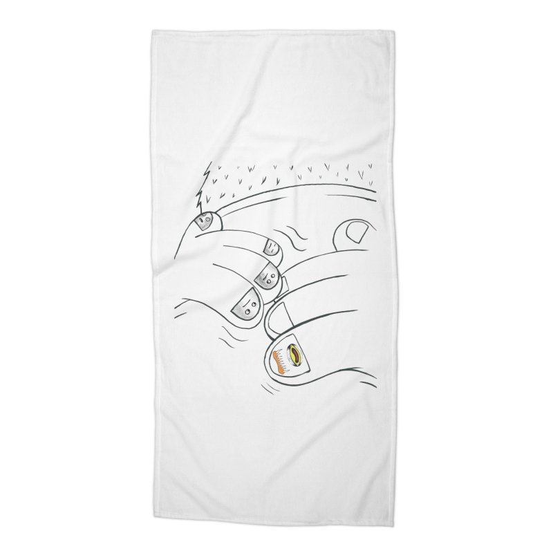 Embrace Your Weird Accessories Beach Towel by Democratee