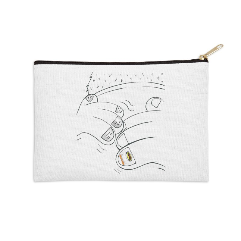 Embrace Your Weird Accessories Zip Pouch by Democratee