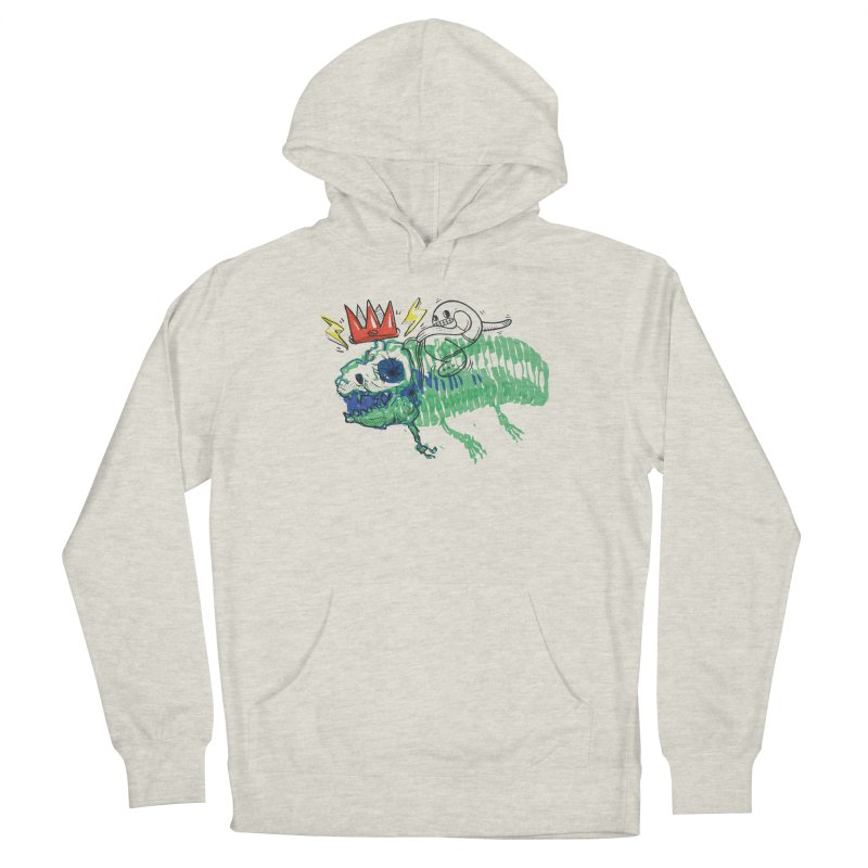 Tyrant Lizard King Women's French Terry Pullover Hoody by Democratee