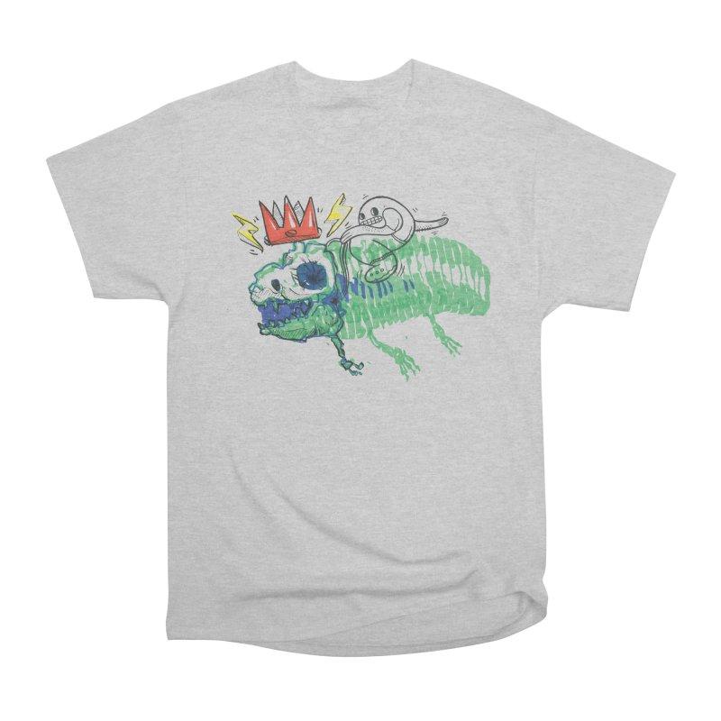 Tyrant Lizard King Men's Heavyweight T-Shirt by Democratee