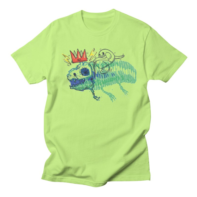 Tyrant Lizard King Men's Regular T-Shirt by Democratee
