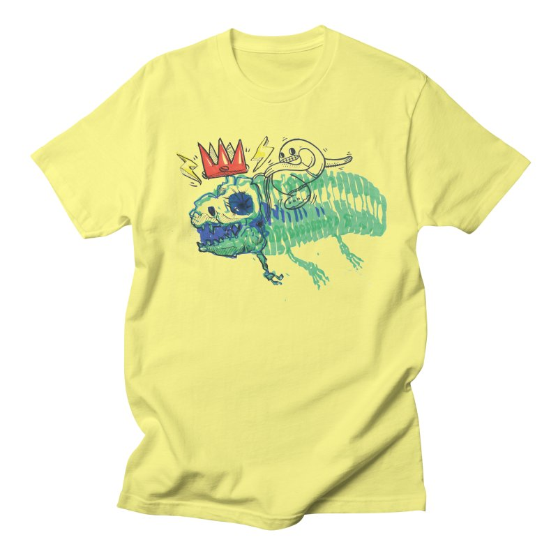 Tyrant Lizard King Women's Regular Unisex T-Shirt by Democratee