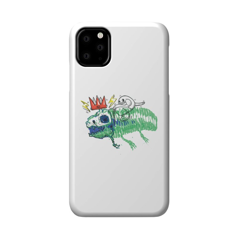 Tyrant Lizard King Accessories Phone Case by Democratee