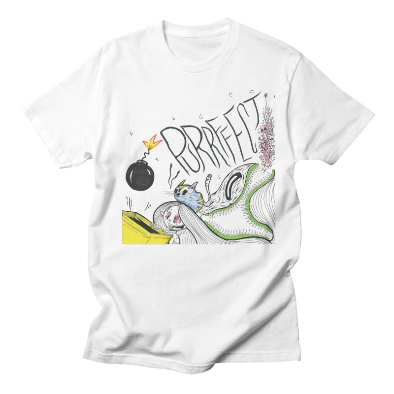 Purrffection Men's Regular T-Shirt by Democratee