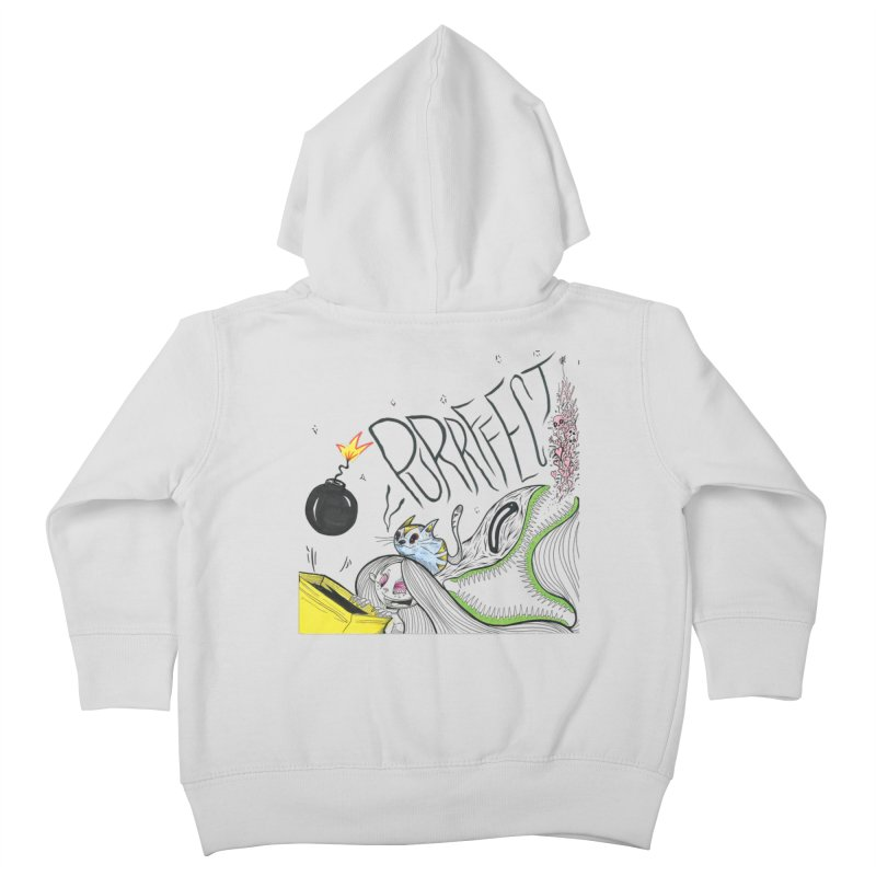 Purrffection Kids Toddler Zip-Up Hoody by Democratee