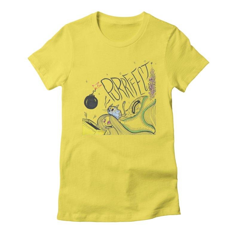 Purrffection Women's T-Shirt by Democratee