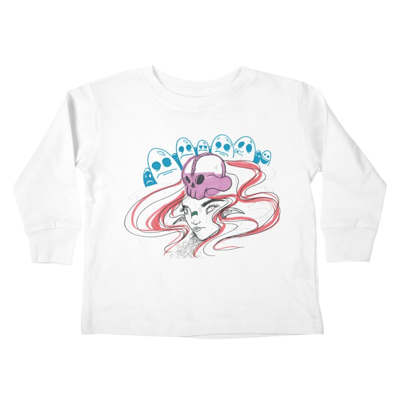 If Looks Could Kill Kids Toddler Longsleeve T-Shirt by Democratee