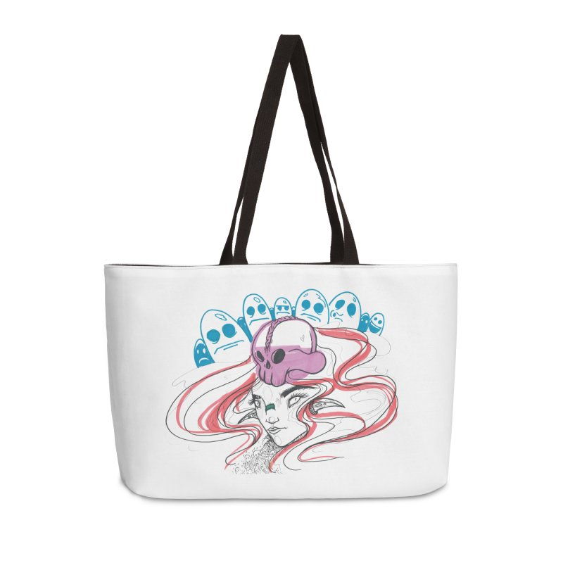 If Looks Could Kill Accessories Weekender Bag Bag by Democratee