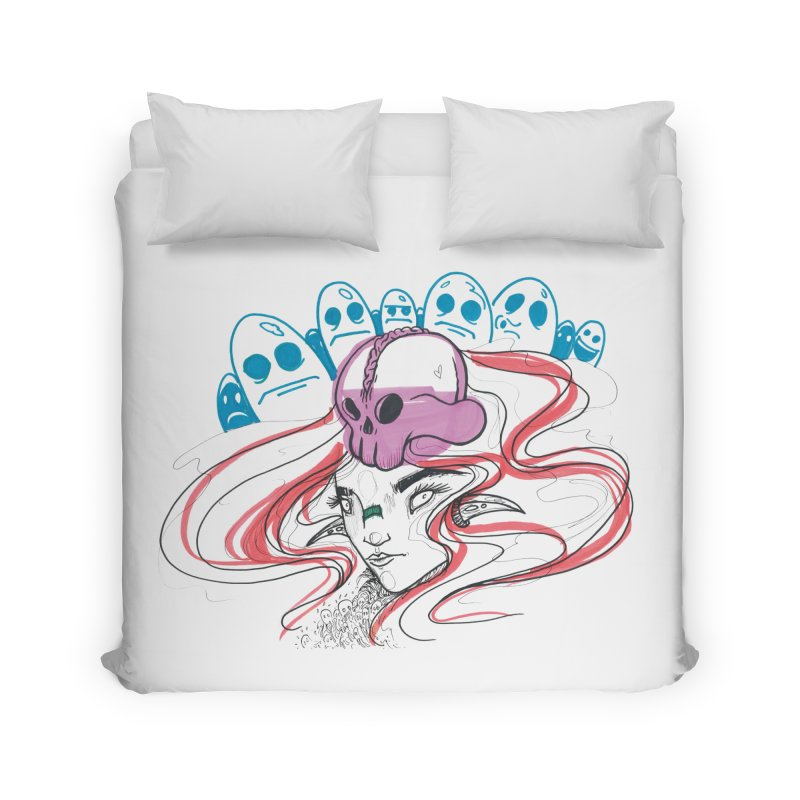 If Looks Could Kill Home Duvet by Democratee