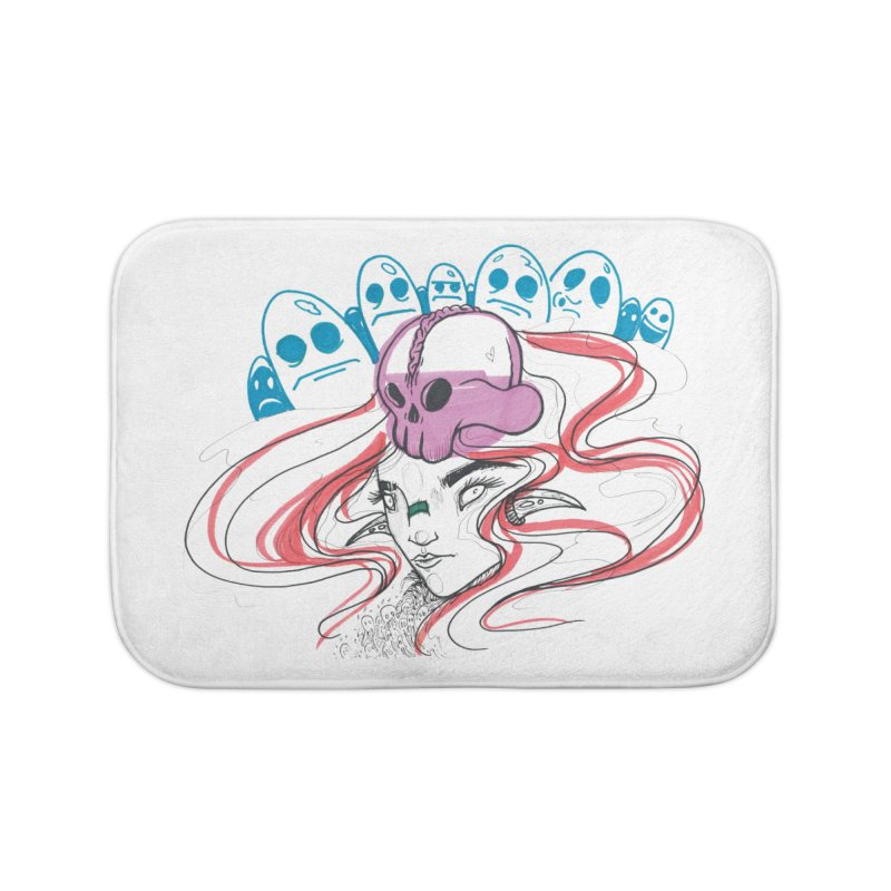 If Looks Could Kill Home Bath Mat by Democratee