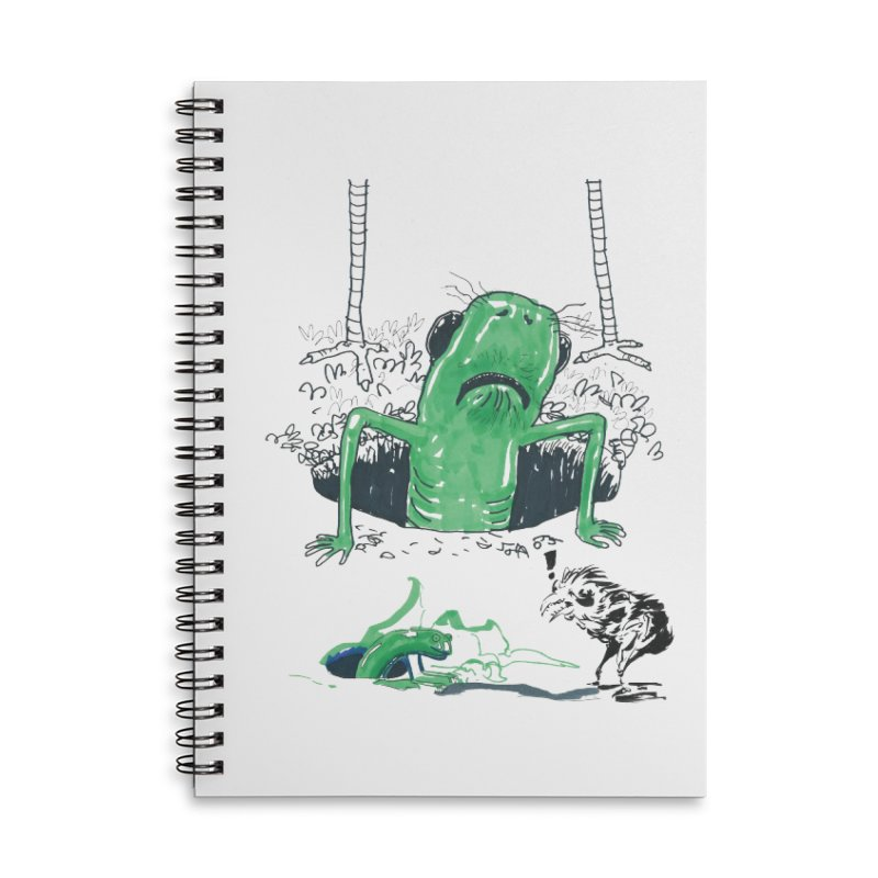 The Early Bird Gets the Worm Accessories Lined Spiral Notebook by Democratee