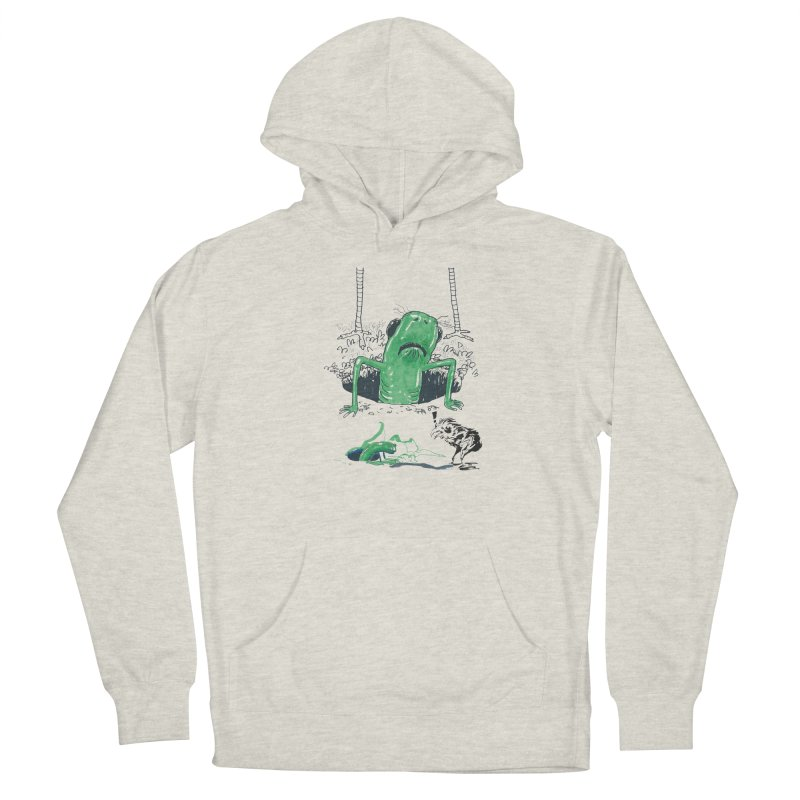 The Early Bird Gets the Worm Men's French Terry Pullover Hoody by Democratee