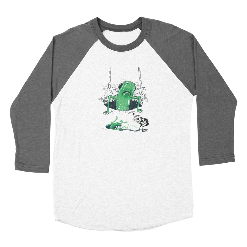 The Early Bird Gets the Worm Women's Baseball Triblend Longsleeve T-Shirt by Democratee