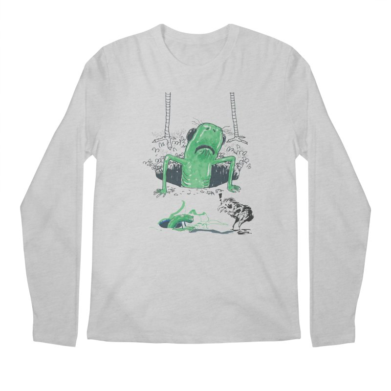 The Early Bird Gets the Worm Men's Longsleeve T-Shirt by Democratee