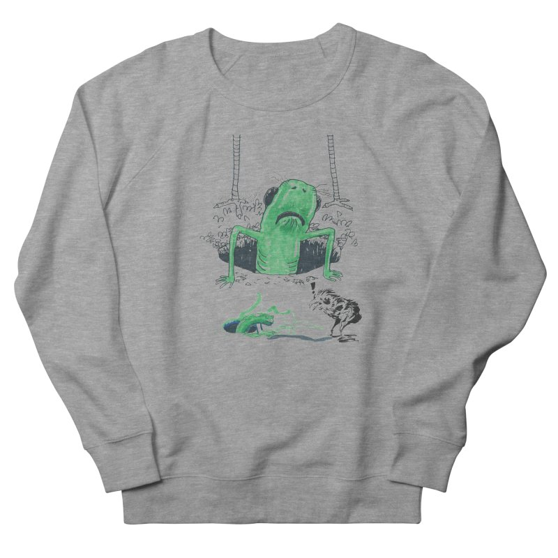 The Early Bird Gets the Worm Women's French Terry Sweatshirt by Democratee
