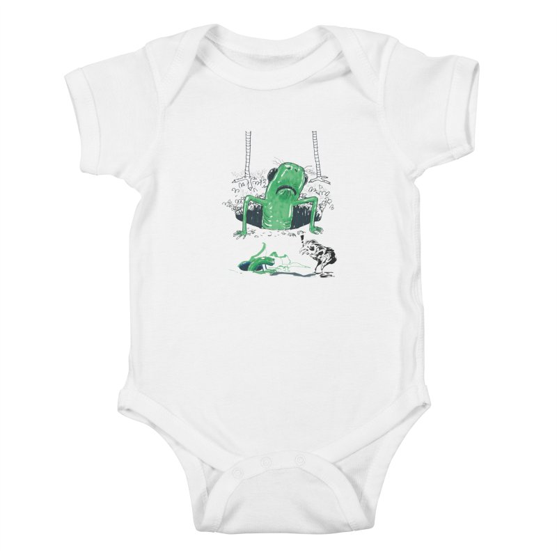 The Early Bird Gets the Worm Kids Baby Bodysuit by Democratee