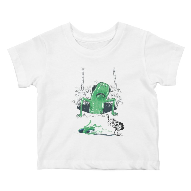 The Early Bird Gets the Worm Kids Baby T-Shirt by Democratee
