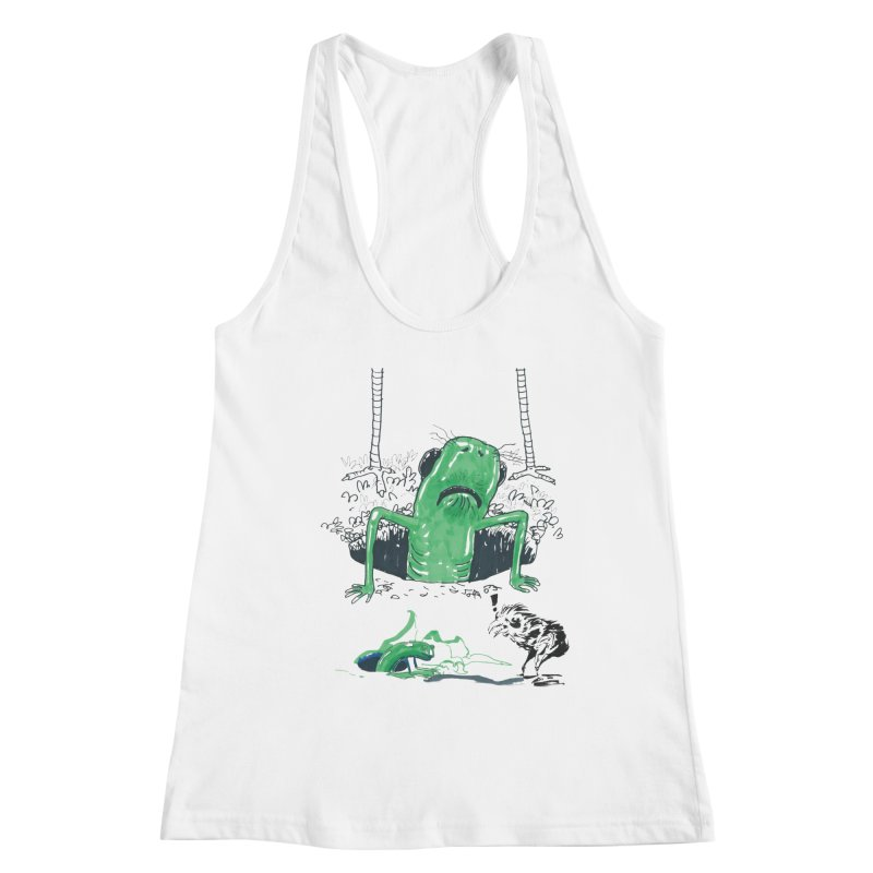 The Early Bird Gets the Worm Women's Racerback Tank by Democratee
