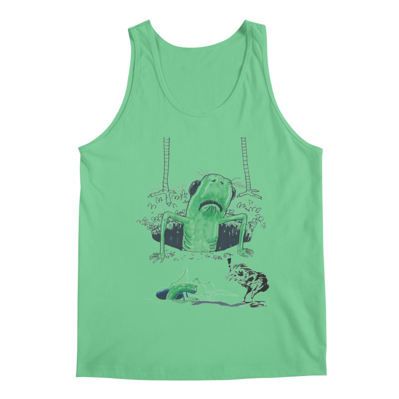 The Early Bird Gets the Worm Men's Tank by Democratee