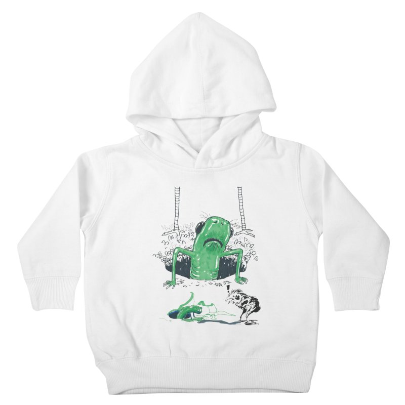 The Early Bird Gets the Worm Kids Toddler Pullover Hoody by Democratee
