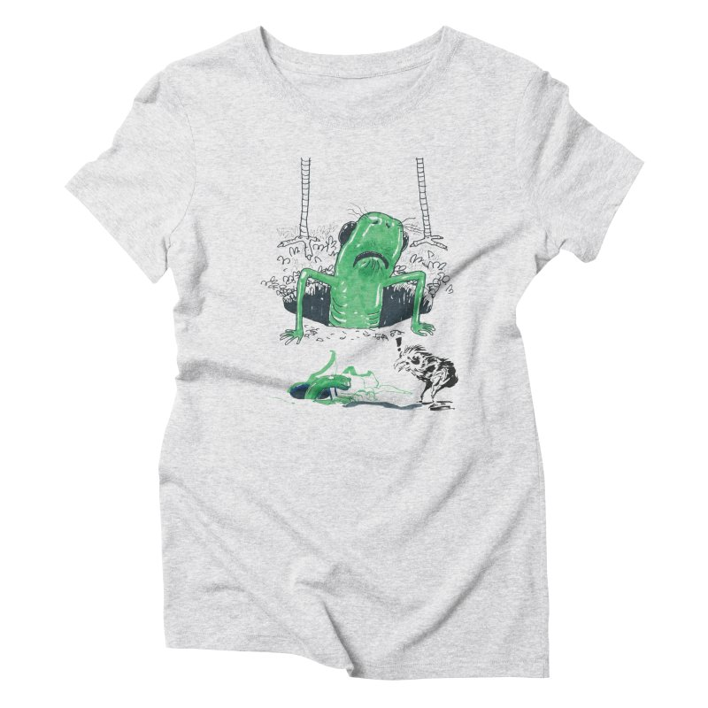 The Early Bird Gets the Worm Women's Triblend T-Shirt by Democratee