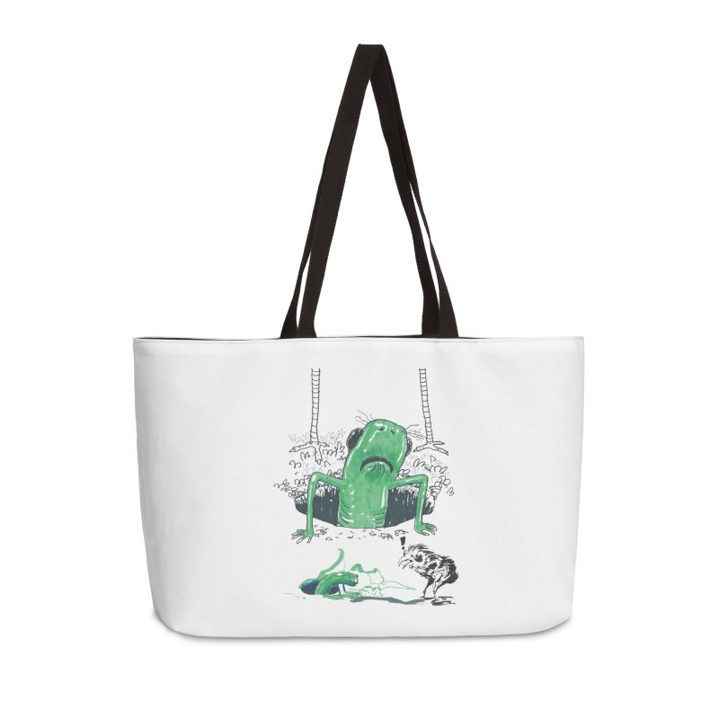 The Early Bird Gets the Worm Accessories Weekender Bag Bag by Democratee