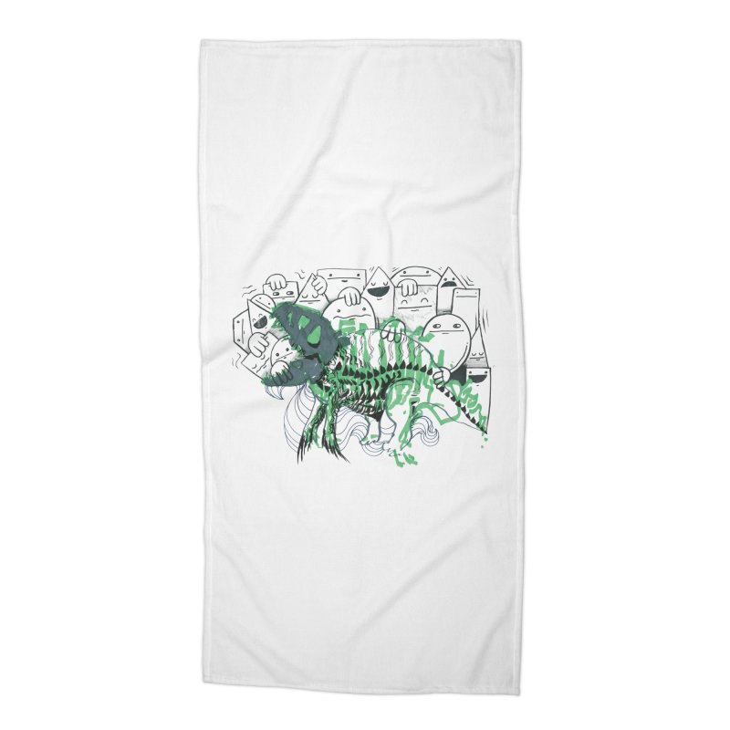 The Beast of Shapesville Accessories Beach Towel by Democratee
