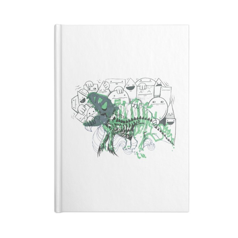 The Beast of Shapesville Accessories Blank Journal Notebook by Democratee