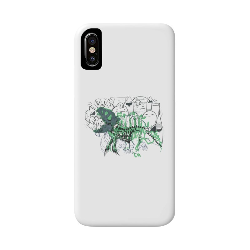 The Beast of Shapesville Accessories Phone Case by Democratee