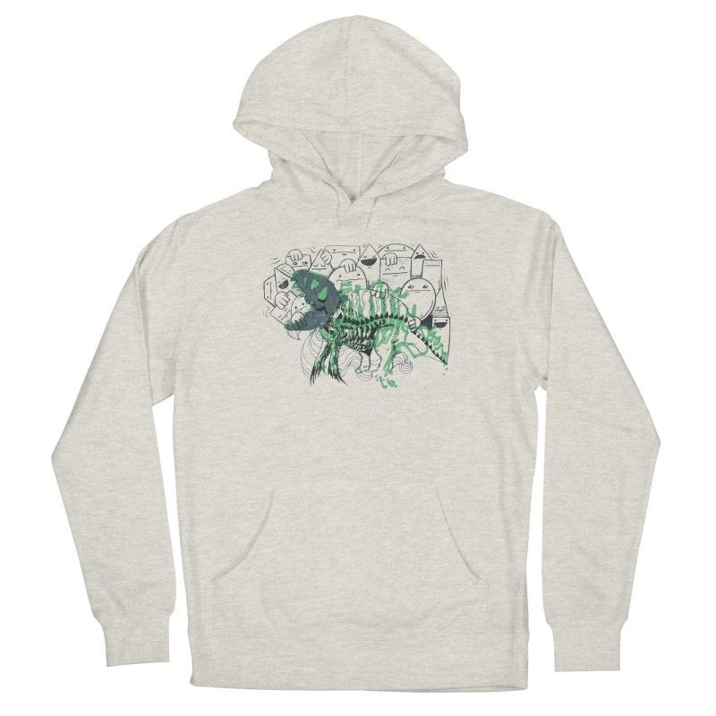 The Beast of Shapesville Men's French Terry Pullover Hoody by Democratee