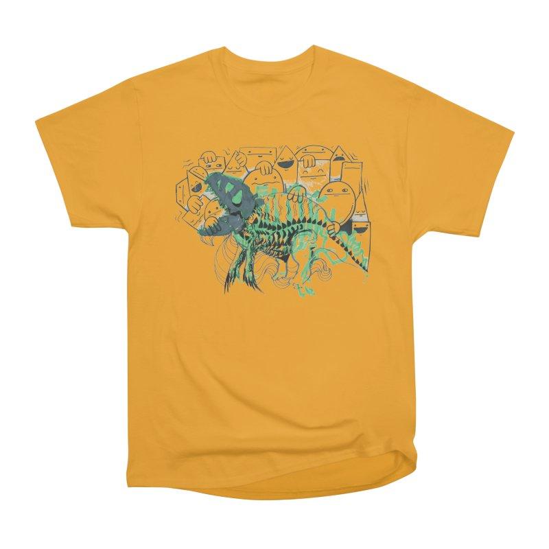 The Beast of Shapesville Women's Heavyweight Unisex T-Shirt by Democratee