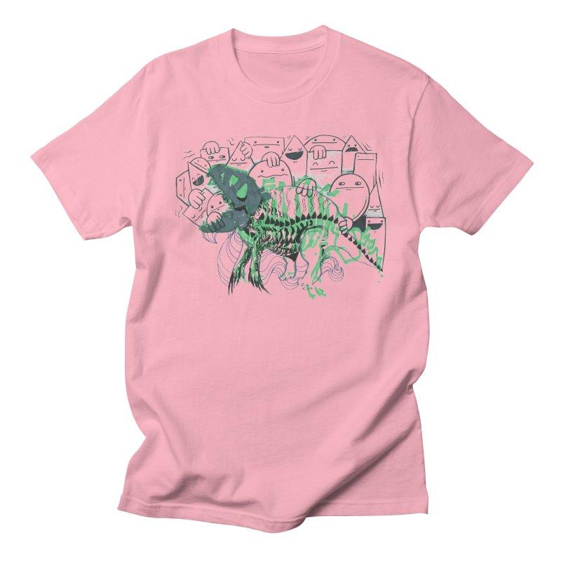 The Beast of Shapesville Women's Regular Unisex T-Shirt by Democratee