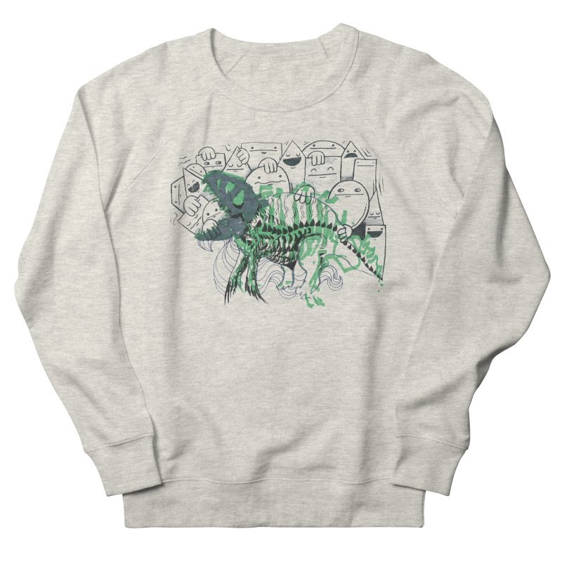 The Beast of Shapesville Men's French Terry Sweatshirt by Democratee