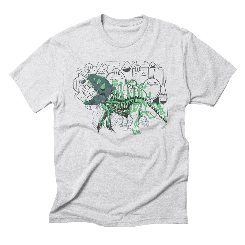 The Beast of Shapesville Men's Triblend T-Shirt by Democratee