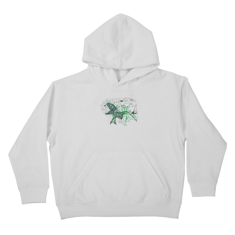 The Beast of Shapesville Kids Pullover Hoody by Democratee