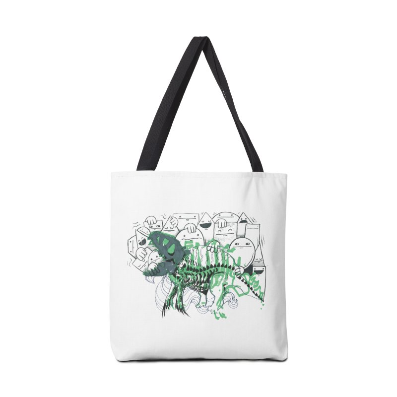 The Beast of Shapesville Accessories Tote Bag Bag by Democratee