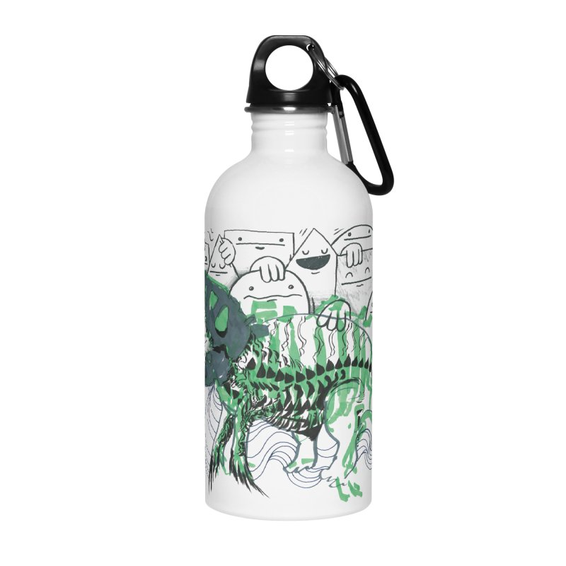 The Beast of Shapesville Accessories Water Bottle by Democratee