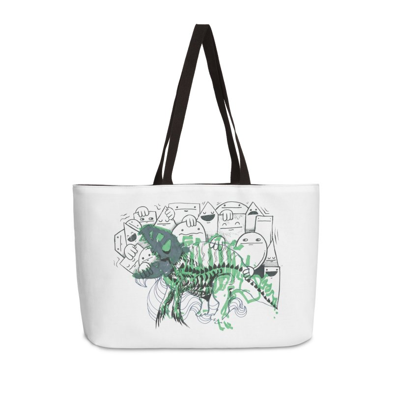 The Beast of Shapesville Accessories Weekender Bag Bag by Democratee