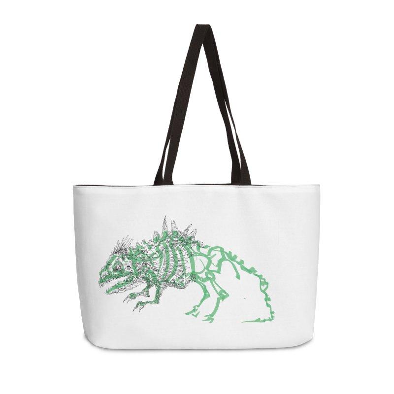 Chimera Chameleon Accessories Weekender Bag Bag by Democratee