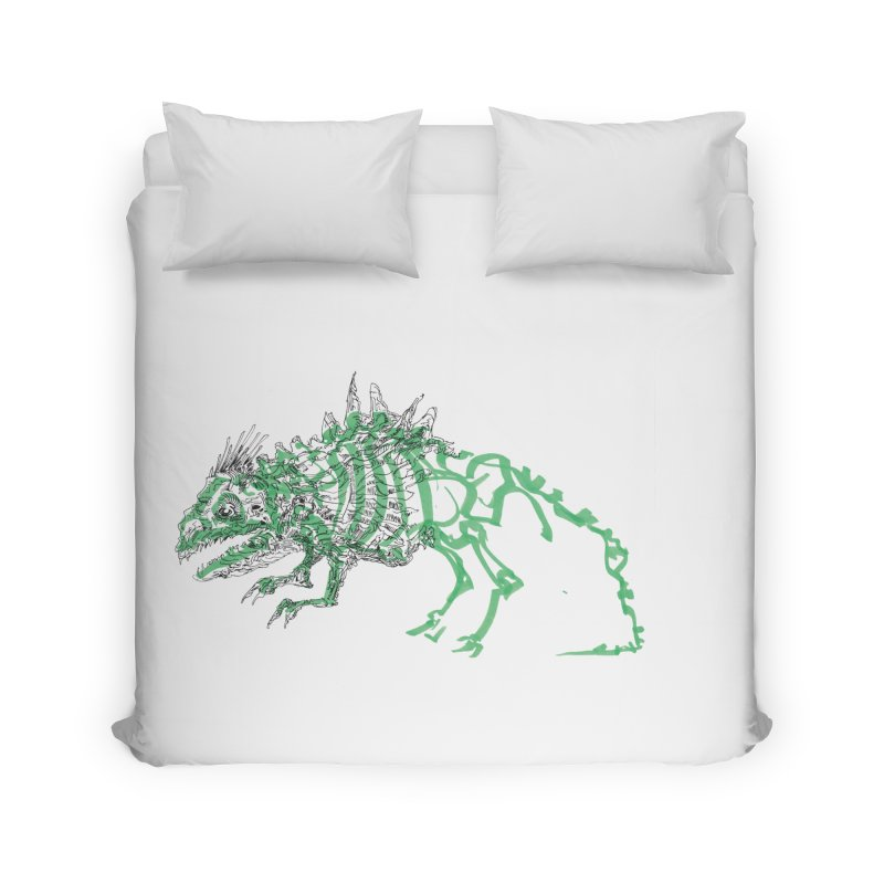 Chimera Chameleon Home Duvet by Democratee