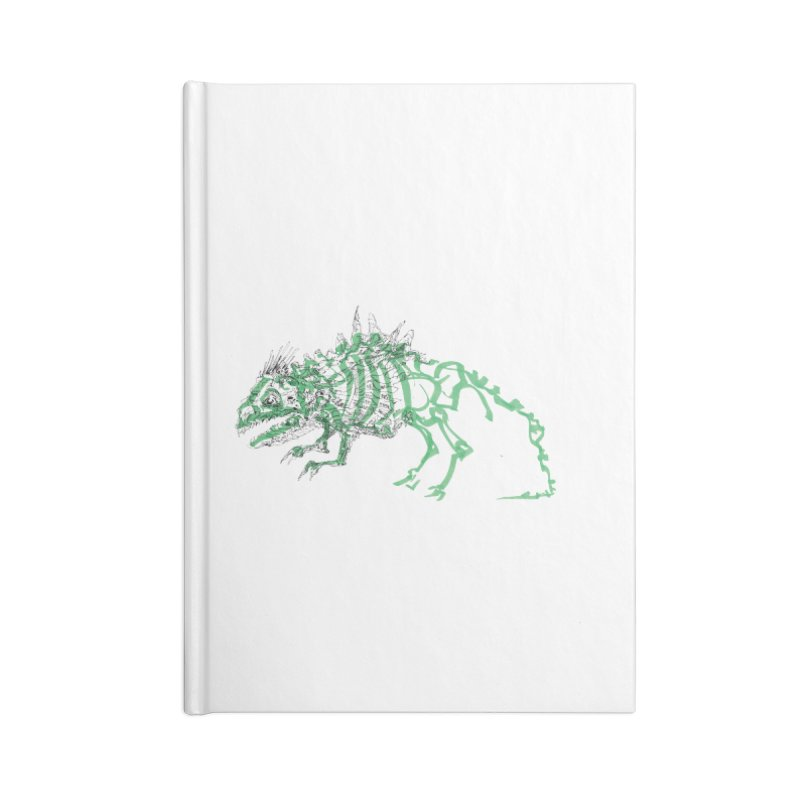 Chimera Chameleon Accessories Blank Journal Notebook by Democratee
