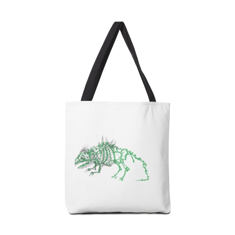 Chimera Chameleon Accessories Tote Bag Bag by Democratee