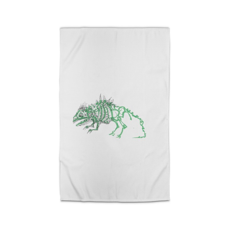 Chimera Chameleon Home Rug by Democratee