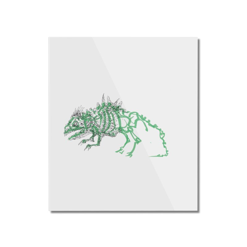 Chimera Chameleon Home Mounted Acrylic Print by Democratee