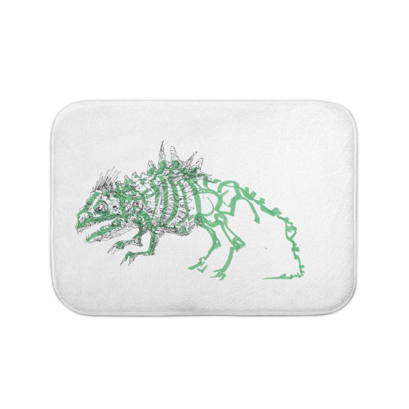 Chimera Chameleon Home Bath Mat by Democratee