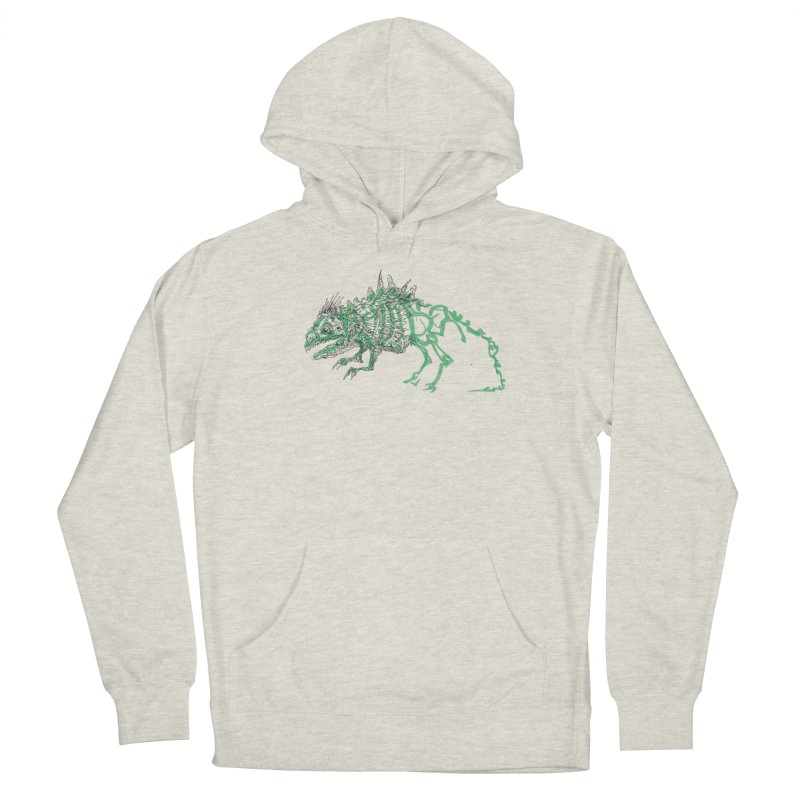 Chimera Chameleon Women's French Terry Pullover Hoody by Democratee
