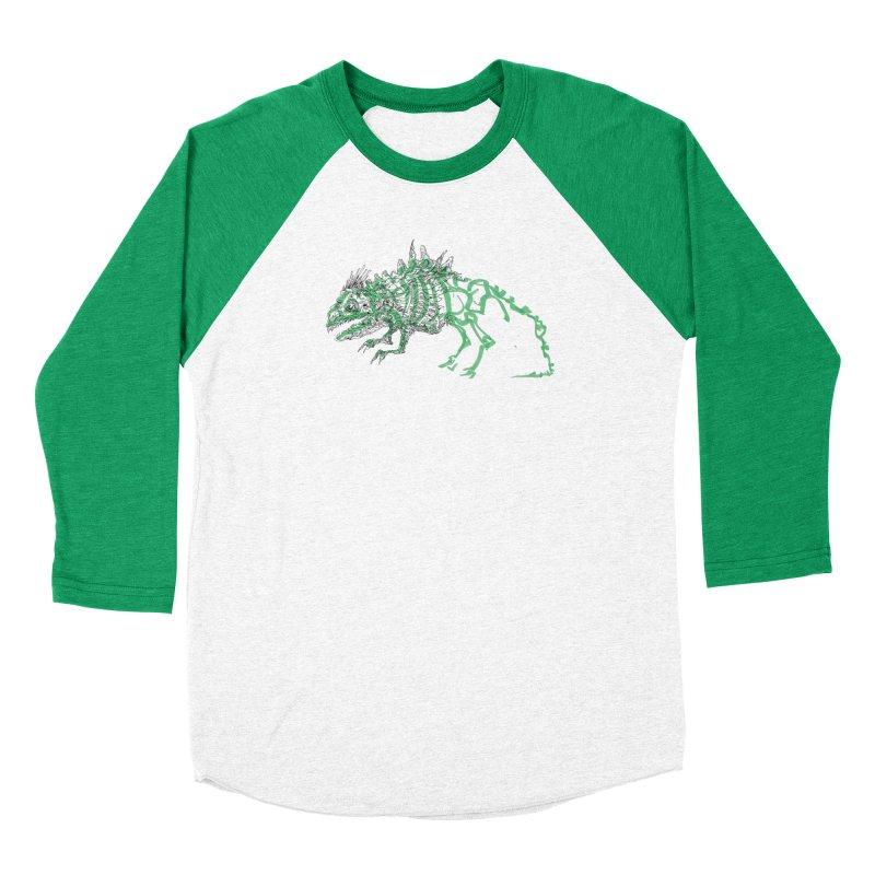 Chimera Chameleon Women's Baseball Triblend Longsleeve T-Shirt by Democratee