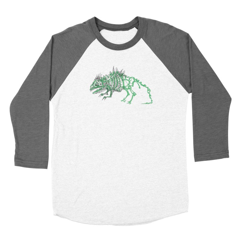 Chimera Chameleon Men's Baseball Triblend Longsleeve T-Shirt by Democratee